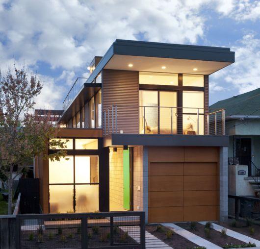 casa quadrada moderna