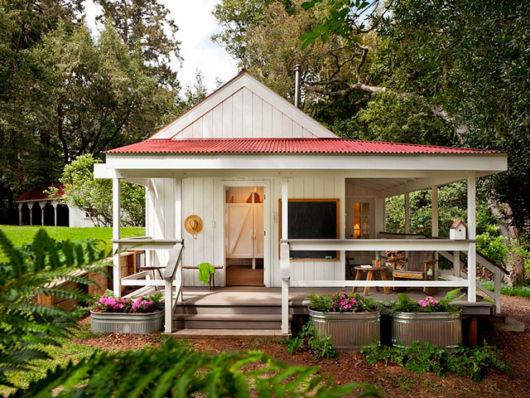 casa quadrada simples