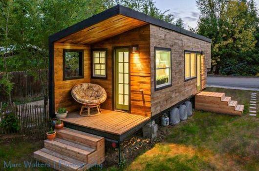 casa simples quadrada
