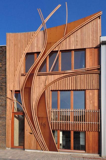 casa sustentável ecológica design moderno
