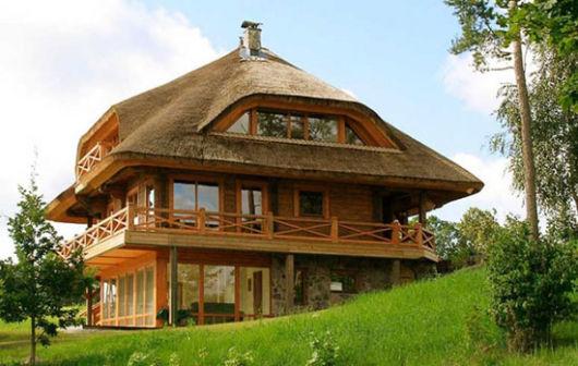 casa sustentável ecológica ideia