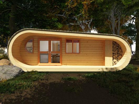 casa sustentável ecológica madeira