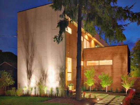casa sustentável ecológica moderna