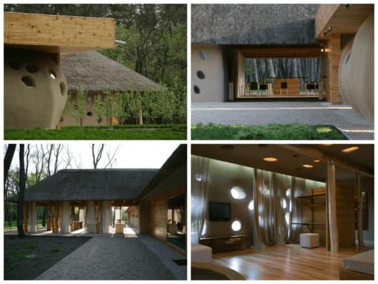 casa sustentável ecológica ucrania
