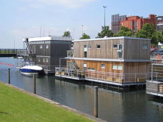 casa sustentável ecológica urbana