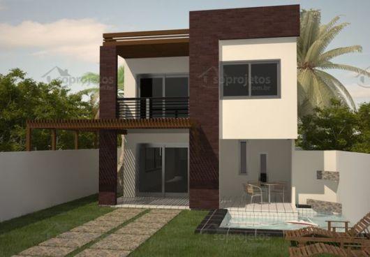 Casas Duplex Plantas E Projetos Gr Tis