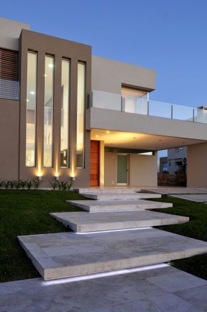 projeto iluminação fachada