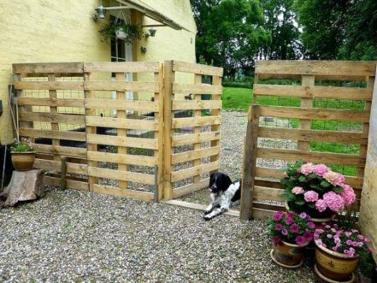 cerca-para-jardim-pallet-reciclada