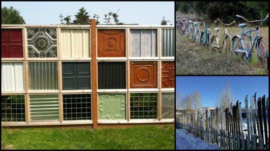 cerca-para-jardim-reciclada
