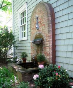 chafariz para jardim instalação em parede
