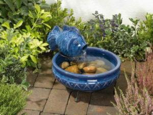 chafariz para jardim de cerâmica
