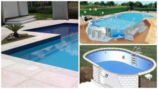 Como construir uma piscina veja dicas e passo a passo - Como construir piscina ...