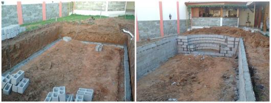 construir piscina de alvenaria