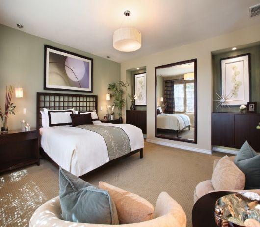 Como decorar um quarto 40 fotos e dicas para te ajudar! -> Fotos De Decoração De Quarto De Casal Grande