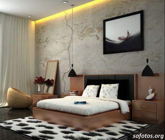 como decorar um quarto de casal grande