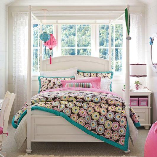 como decorar um quarto feminino arejado