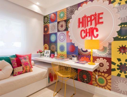 como decorar um quarto femininos escrivaninha