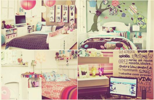 como decorar um quarto femininos