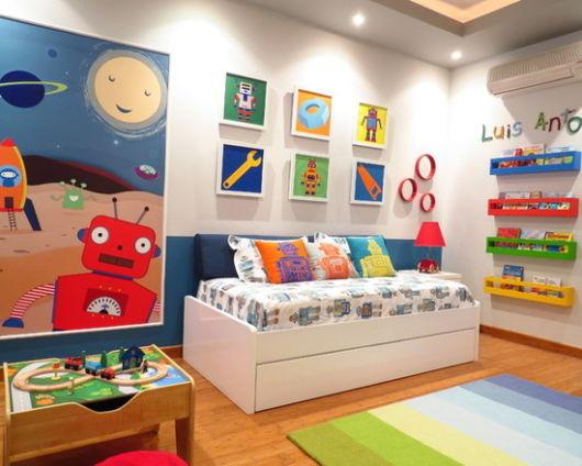 como decorar um quarto infantil brinquedos