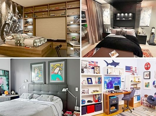 como decorar um quarto masculino dicas