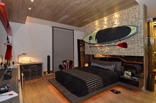como decorar um quarto masculino prancha