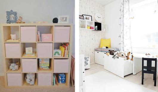 como decorar um quarto nichos