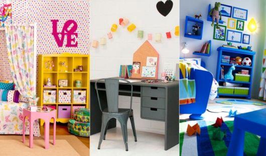 como decorar um quarto organização