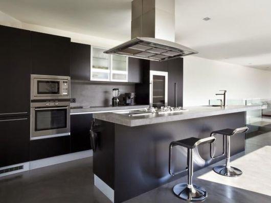 cozinhas-de-luxo-pretas