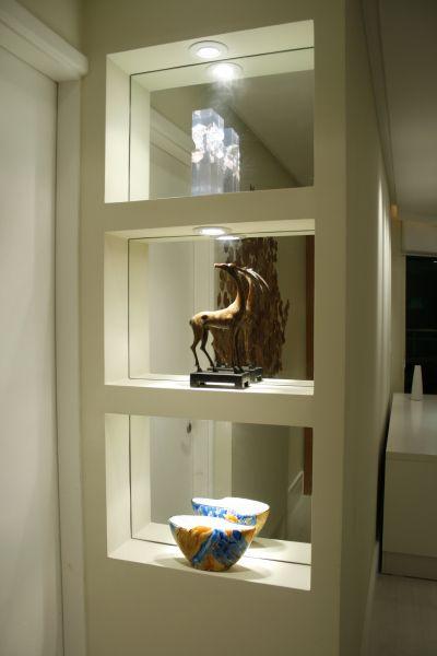 nichos com espelho