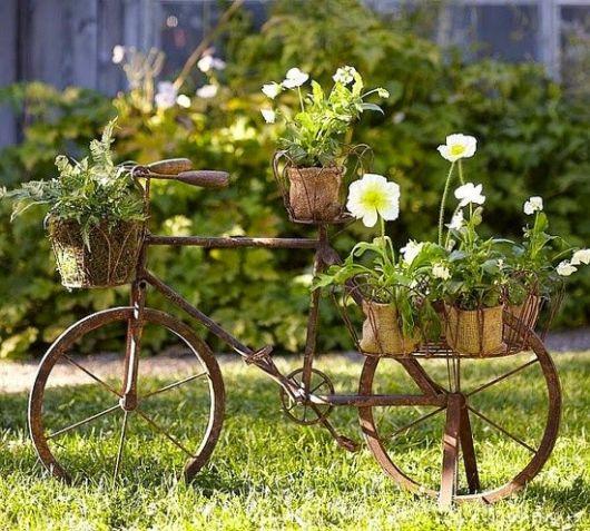 bicicleta de ferro