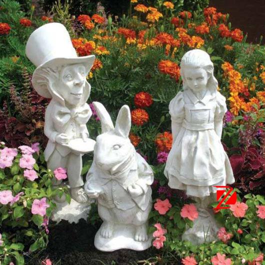 Enfeites para jardim 58 ideias para jardim interno e externo for Estatuas jardin