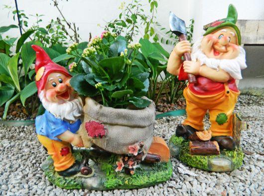 enfeites para jardim branca de neve:Enfeites para jardim: 58 ideias para jardim interno e externo!