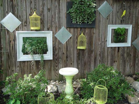 decoração com gaiolas