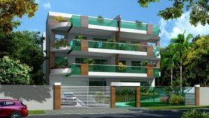 fachadas de prédios moderna