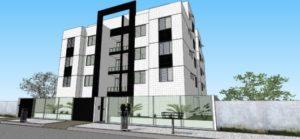 fachadas de prédios simples