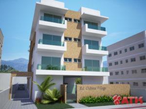 modelos de fachadas de prédios pequenos