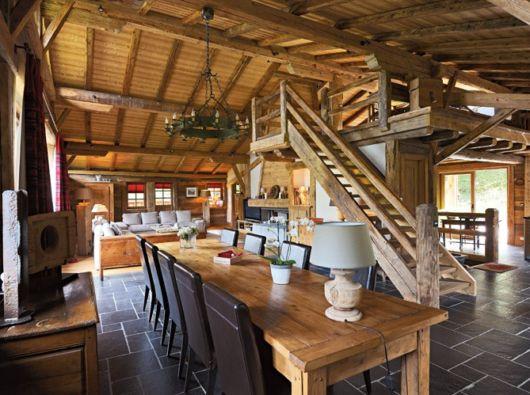 Forro de madeira tipos e modelos vantagens 67 ambientes lindos - Casas rusticas por dentro ...