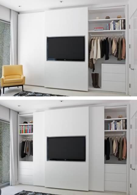 guarda roupa com TV