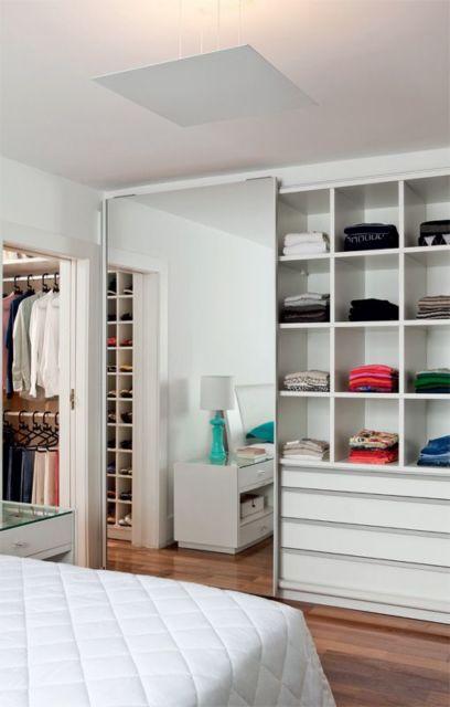 Aparador Pequeño Salon ~ Guarda roupa planejado embutido dicas e projetos!