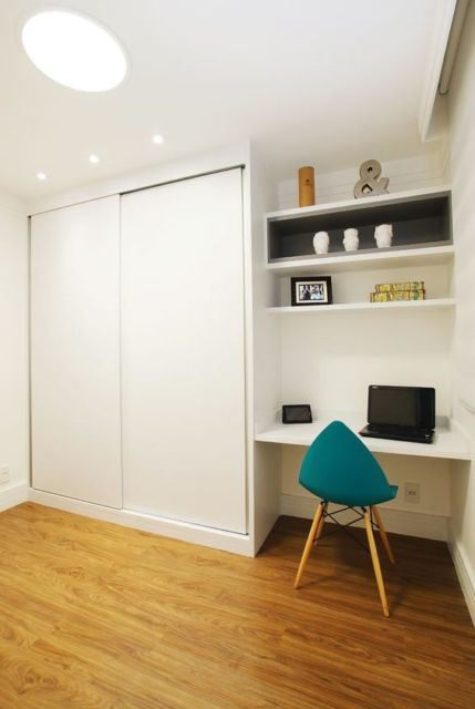 armário planejado branco