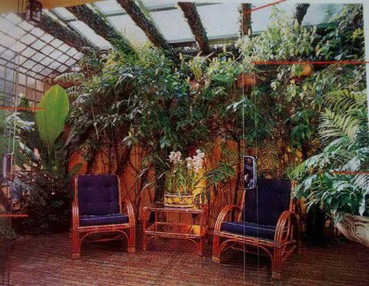 jardim-de-inverno-na-sala-com-porta-de-vidro-e-pergolado