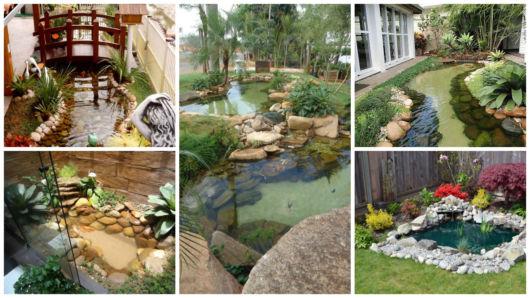 mini jardim quanto custa : mini jardim quanto custa:Lago artificial: 49 fotos de projetos e passo a passo!