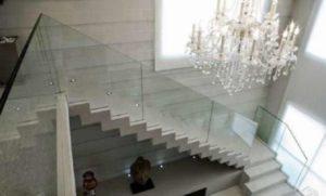 lustre para escada candelabro