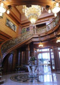 lustre para escada estilo candelabro