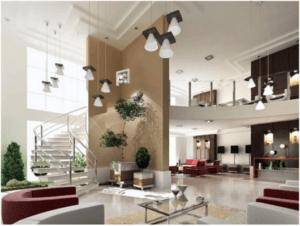 lustre para escada estilo moderno
