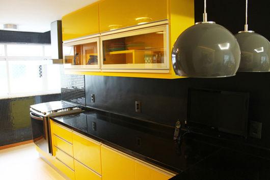 móveis laqueados cozinha