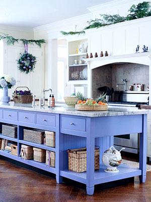 móveis laqueados na cozinha americana