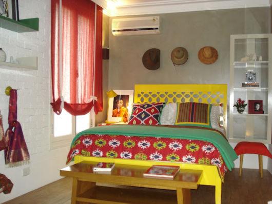 móveis laqueados quarto cama
