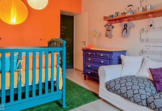 móveis laqueados quarto de bebê
