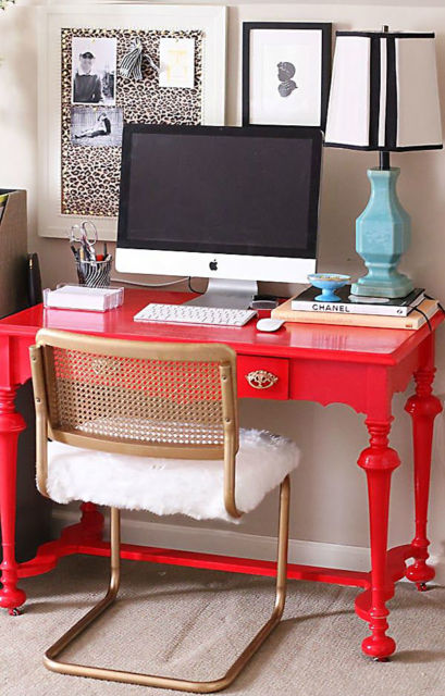 móveis laqueados quarto escritório